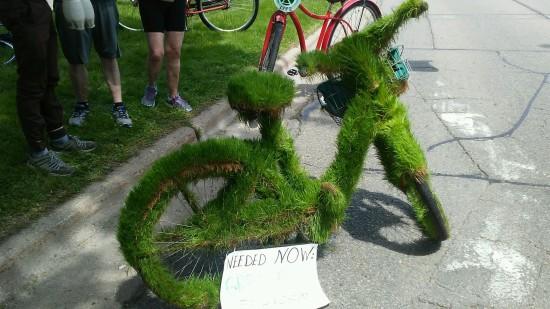 Grass bike